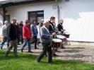 14. April: Üben für den Zapfenstreich